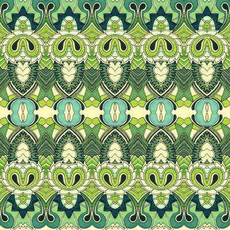Acorn a Deco fabric by edsel2084 on Spoonflower - custom fabric