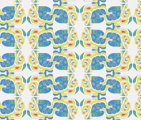 Do-si-do and Face the Sides fabric by susaninparis on Spoonflower - custom fabric