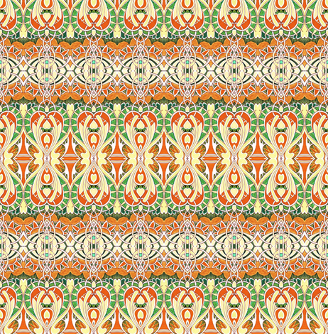 Drinking pumpkin spirits at the Speakeasy fabric by edsel2084 on Spoonflower - custom fabric