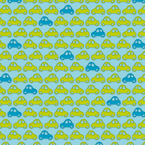 Beep Beep Yeah fabric by zoebrench on Spoonflower - custom fabric
