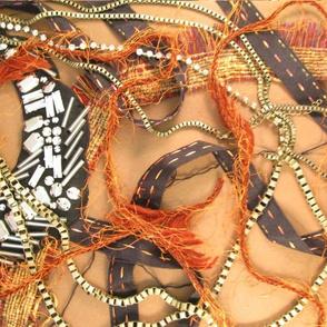Textile collage 1
