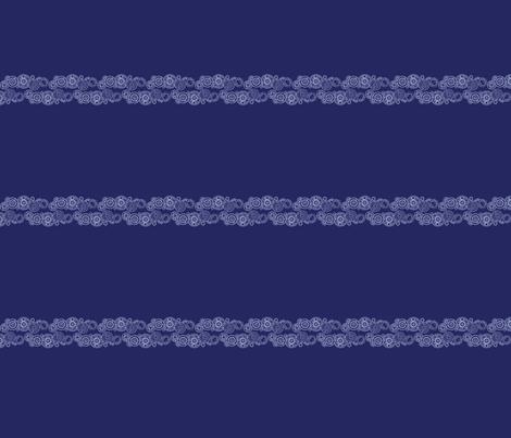 Who are you?  - Horizontal Stripe fabric by studiofibonacci on Spoonflower - custom fabric