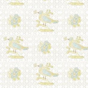 l'oiseau - blue
