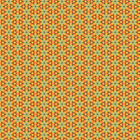 Poliviel's Tiny Hexagons fabric by siya on Spoonflower - custom fabric