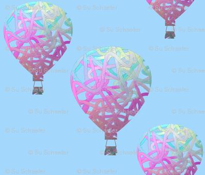 Sky balloons light