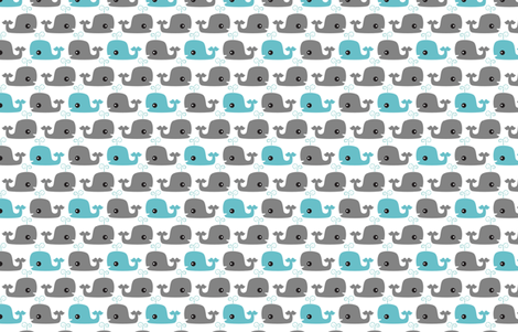 Moby fabric by tradewind_creative on Spoonflower - custom fabric