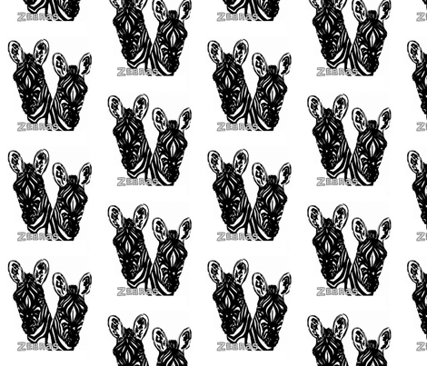 zebs fabric by sewbiznes on Spoonflower - custom fabric