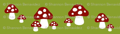 Gnome Mushrooms
