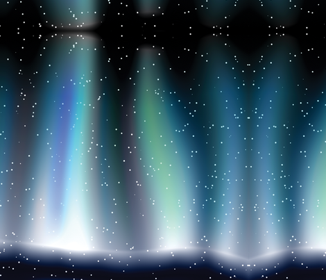Aurora fabric by animotaxis on Spoonflower - custom fabric