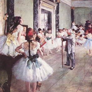 The Dance Class (Edgar Degas - 1876)