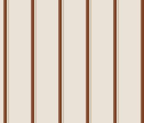 Chocolate Stripe fabric by studiofibonacci on Spoonflower - custom fabric