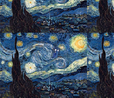 Spoonflower_42_-_starry_night_with_tardis_-_12x16_-_jessalu_special_shop_preview