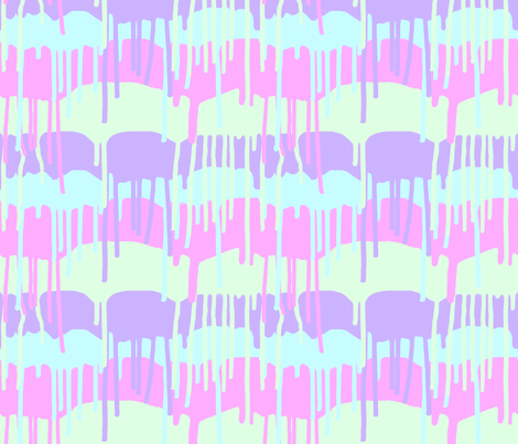 Melting Ice Cream fabric by jhacarlson on Spoonflower - custom fabric