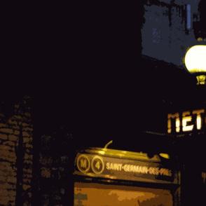 St Germain Metro Stop