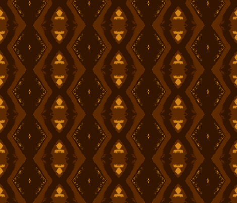 Chocolata fabric by susaninparis on Spoonflower - custom fabric