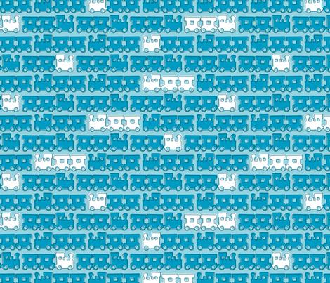 ChooChoo fabric by zoebrench on Spoonflower - custom fabric