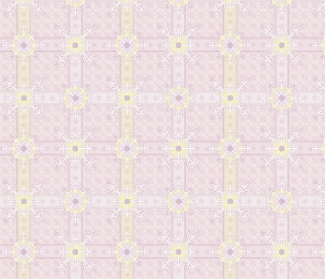 © 2011 Mad Pattern - Orchid Glow fabric by glimmericks on Spoonflower - custom fabric