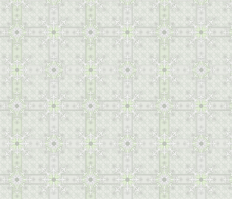 © 2011 Mad Pattern - Lilac Mint fabric by glimmericks on Spoonflower - custom fabric