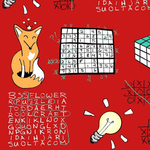 A Red Fox Solves Some Puzzles