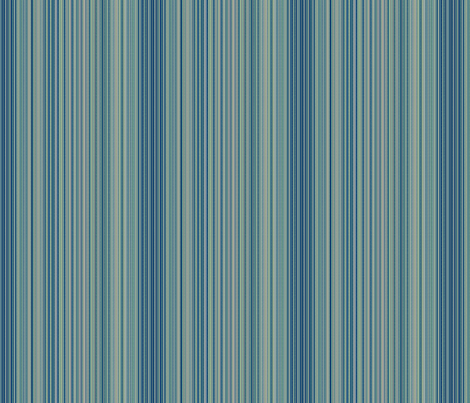 © 2011 Stripes - Tonal Blue fabric by glimmericks on Spoonflower - custom fabric