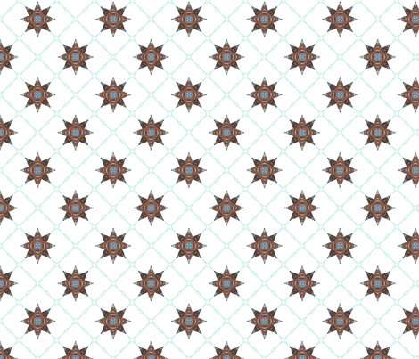 Netbomb - white fabric by siya on Spoonflower - custom fabric