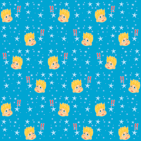 Little Boy fabric by mikka on Spoonflower - custom fabric