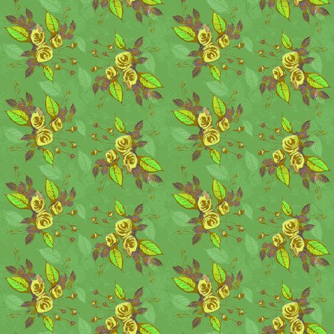 Rrrroses_green_leaves_green_background_shop_preview