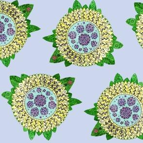 ladybird sunflower fantasy
