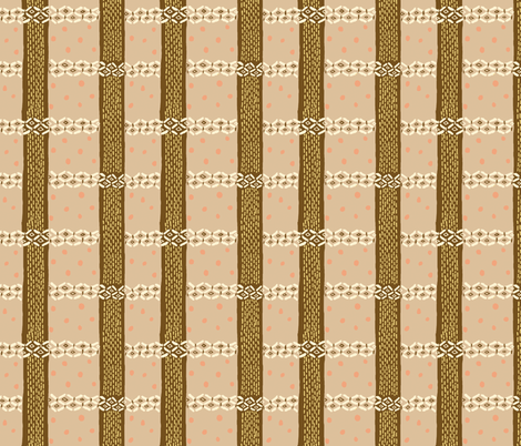 Soba plaid fabric by emuattacks on Spoonflower - custom fabric