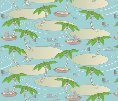 © 2011 Seaesta - Big fabric by glimmericks on Spoonflower - custom fabric