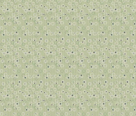 © 2011 Circle stripe 2 - Sage fabric by glimmericks on Spoonflower - custom fabric