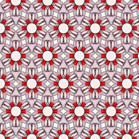 Sangres's Buttonflower fabric by siya on Spoonflower - custom fabric