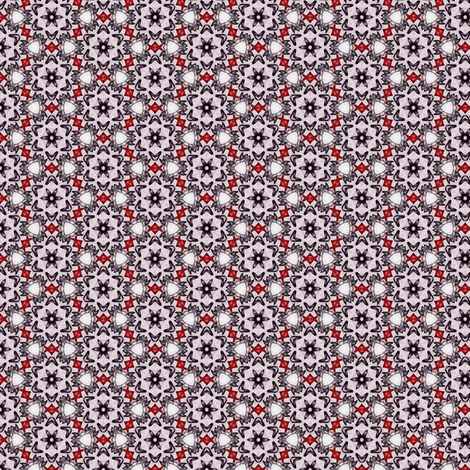 Sangres's Blackflower fabric by siya on Spoonflower - custom fabric