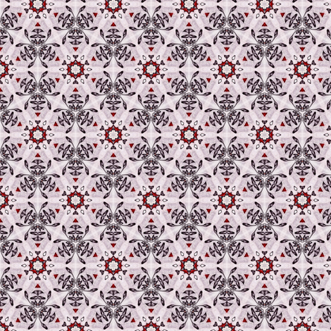 Sangres's Briarstar fabric by siya on Spoonflower - custom fabric