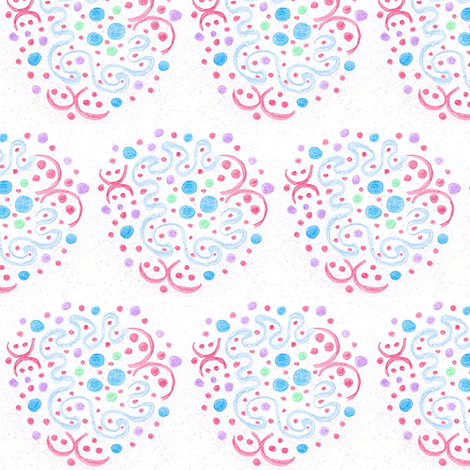 doo_doodle_dee fabric by deborama on Spoonflower - custom fabric