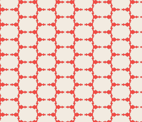 Red Hedge fabric by david_kent_collections on Spoonflower - custom fabric