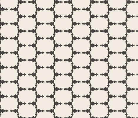 Grey Hedge fabric by david_kent_collections on Spoonflower - custom fabric