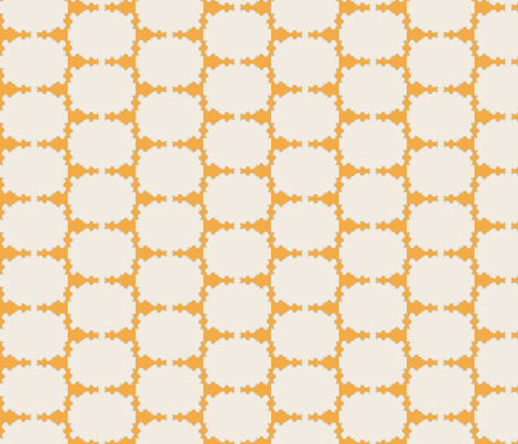 Orange Hedge fabric by david_kent_collections on Spoonflower - custom fabric
