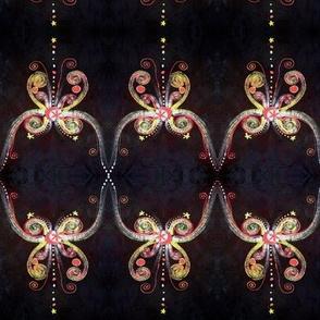 Black Batik Butterfly