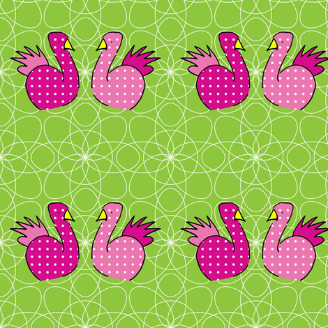 lovebirds fabric by astrantia2002 on Spoonflower - custom fabric
