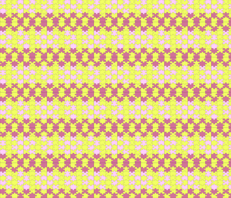 puzzle_vision fabric by laurab23 on Spoonflower - custom fabric