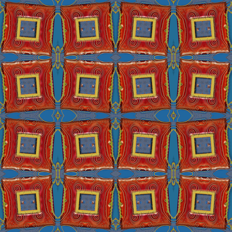 Fractal Picture Frame fabric by eclectic_house on Spoonflower - custom fabric