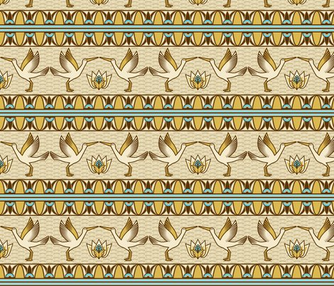 Rregyptian_ornate_bird_border_shop_preview