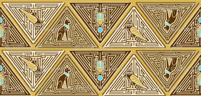 Egyptian pyramid maze