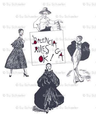 Balenciaga Rules OK! medium, by Su_G
