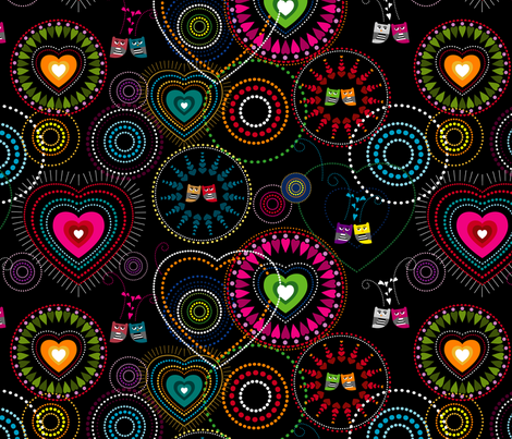 Love Is In The Air fabric by ravenous on Spoonflower - custom fabric