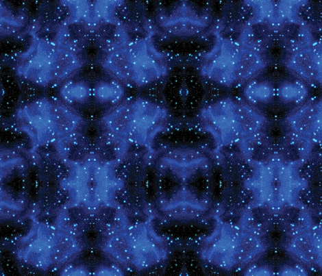 Star Field fabric by animotaxis on Spoonflower - custom fabric