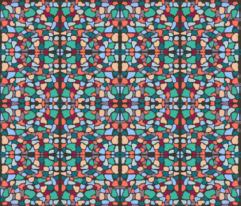 Tessellae 1 by Su_G fabric by su_g on Spoonflower - custom fabric