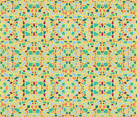 Tessellae 2 fabric by su_g on Spoonflower - custom fabric