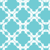 Abstract Powder Blue